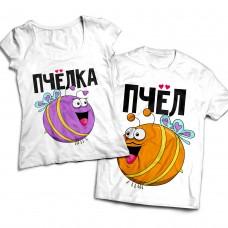 Комплект парных футболок Пчелы