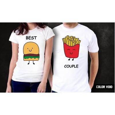 Комплект парных футболок Best Couple