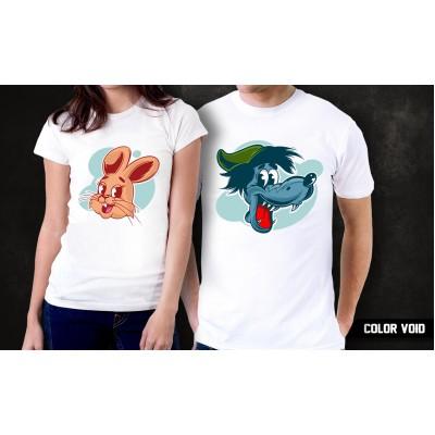 Комплект парных футболок Ну, погоди!