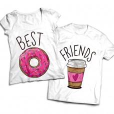Комплект парных футболок Best Friends