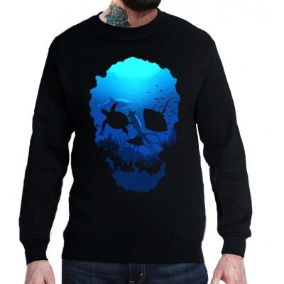 Свитшот Морской череп