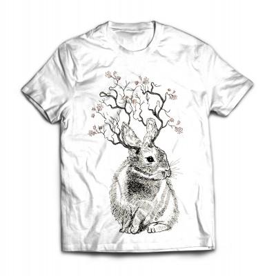Футболка Древесный заяц
