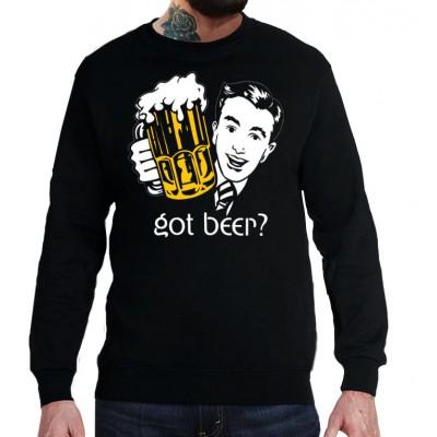 Свитшот Хочешь пиво?