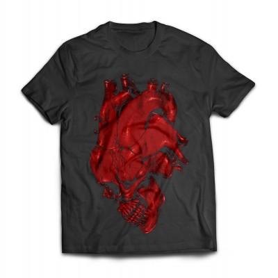 Футболка Сердце-череп