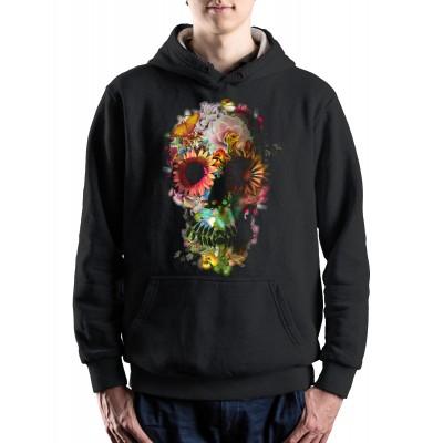 Байка Цветочный череп