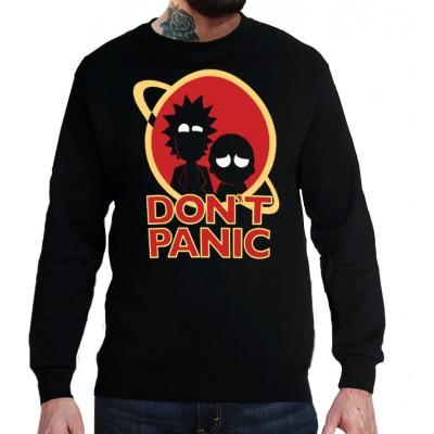 Свитшот Rick and Morty Dont Panic