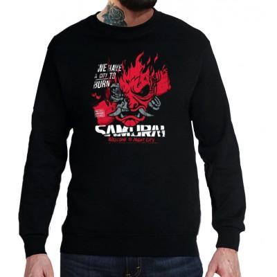 Свитшот Cyberpunk Samurai v1