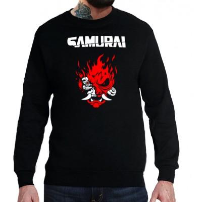 Свитшот Cyberpunk Samurai v2