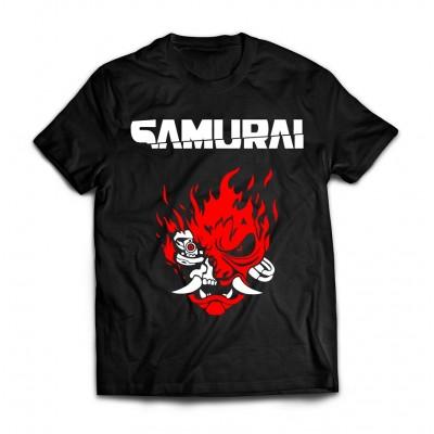 Футболка Cyberpunk Samurai v2