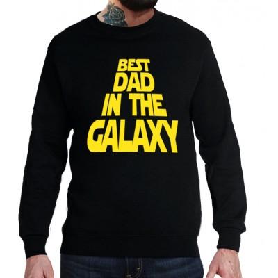 Свитшот Best dad in the galaxy