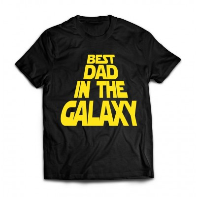 Футболка Best dad in the galaxy