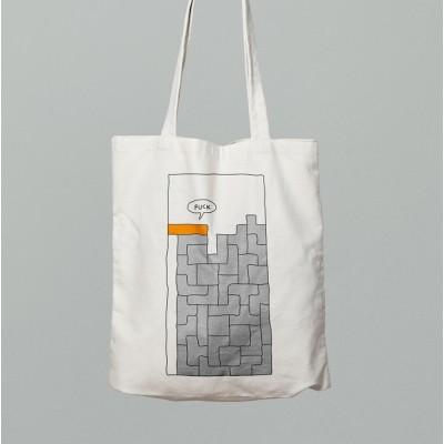 Сумка шоппер Tetris F*ck