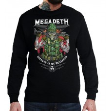 Свитшот Megadeth v6