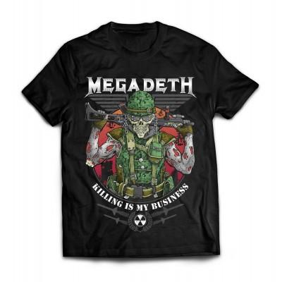 Футболка Megadeth v6