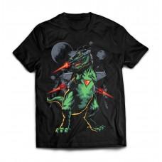Футболка Боевой динозавр