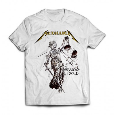 Футболка Metallica Justice for All v2