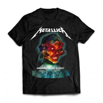 Футболка Metallica Hardwired