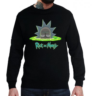 Свитшот Rick and Morty Deep portal