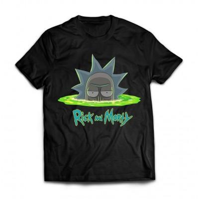 Футболка Rick and Morty Deep portal