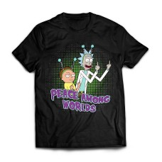 Футболка Rick and Morty Peace among Worlds