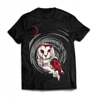 Футболка Кровавая сова