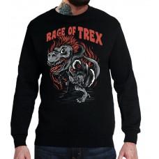 Свитшот Яростный T-Rex