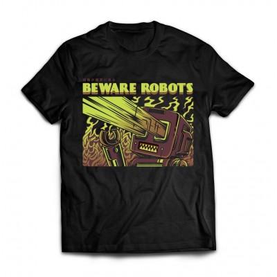 Футболка Остерегайтесь роботов