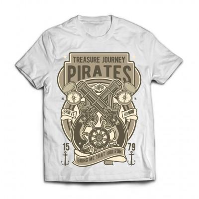 Футболка Пиратский клад
