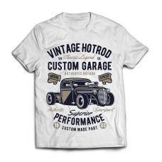 Футболка Vintage Hotrod
