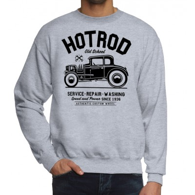 Свитшот Hotrod Old School