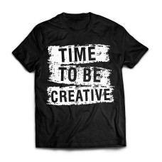 Футболка Time to be creative
