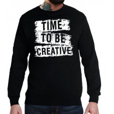 Свитшот Time to be creative