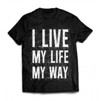 Футболка I Live my Life