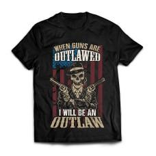 Футболка American outlaw