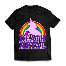 Футболка Death Metal Unicorn v2