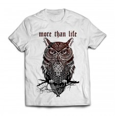 Футболка More Than Life Owl