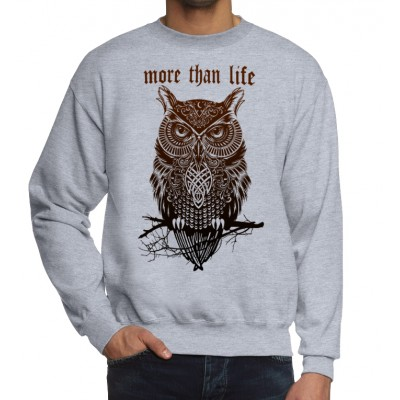 Свитшот More Than Life Owl