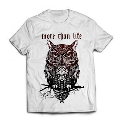 Футболка More Than Life Owl