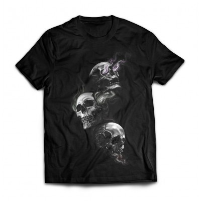Футболка Aztec warrior skull