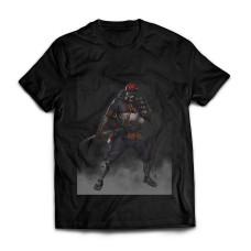 Футболка Киборг самурай