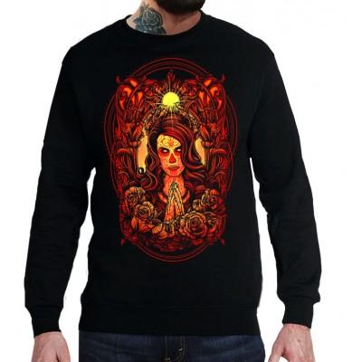 Свитшот Красная ведьма