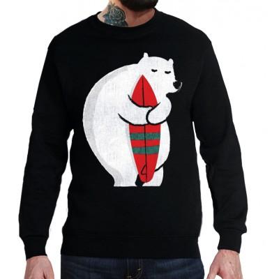 Свитшот Белый медведь